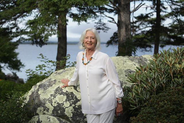 Jane Alexander in Port Medway, Nova Scotia (photo by LP Farrell)