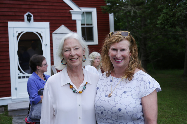 Jane Alexander and Festival Chair Pam Purves (photo by LP Farrell)